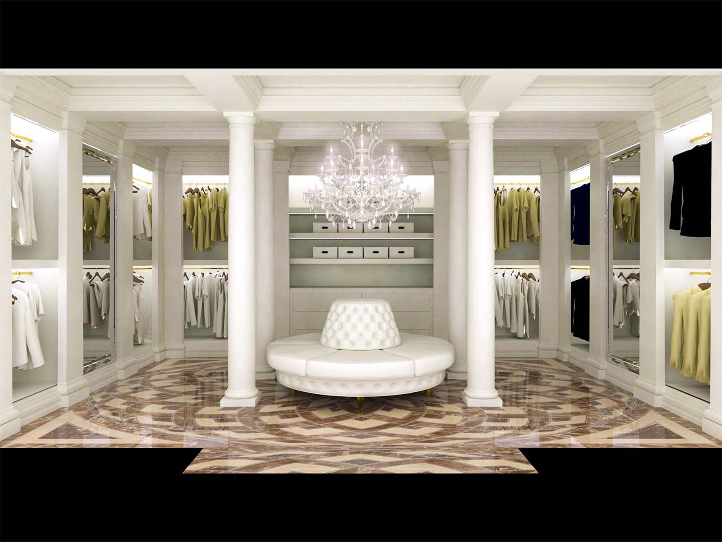 Cabine Armadio Luxury : Cabine armadio ozonizzate nuovo stile design